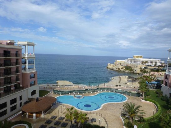 The Westin Dragonara Resort, Malta: Vue de notre chambre
