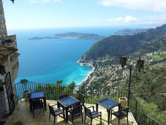 View Of Cap Ferrat Picture Of Chateau Eza Eze Tripadvisor