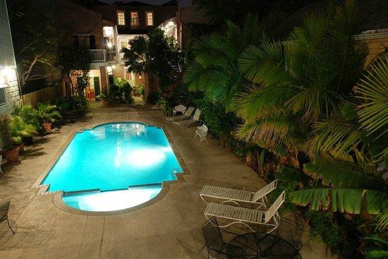 Lamothe House Hotel: Lamothe House Pool and Hot Tub