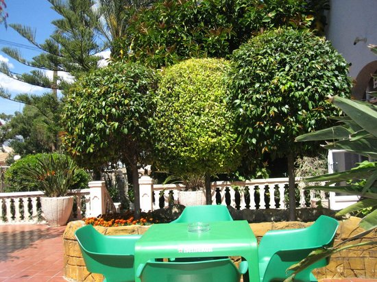 Hotel La Riviera: Nice yard
