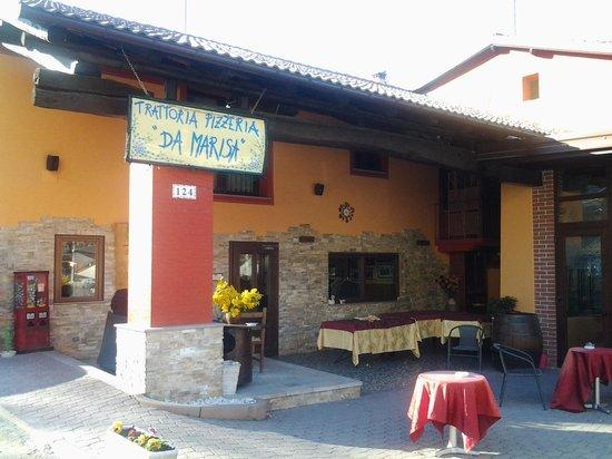 Trattoria Da Marisa : Ingresso del ristorante.