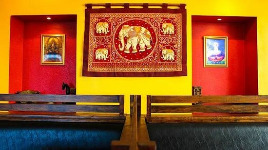 Thai Silk Restaurant: Elephant