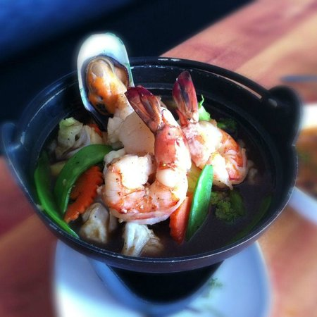 Thai Silk Restaurant: Seafood Dish
