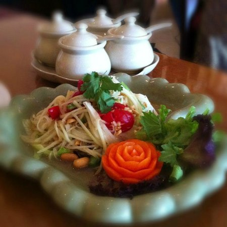 Thai Silk Restaurant: Papaya Salad