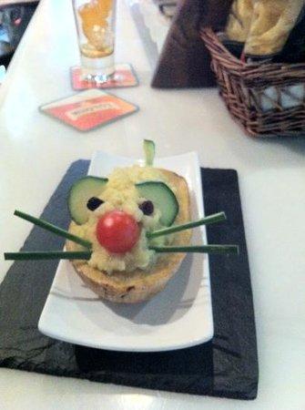 Taberna Gouda: la ratita del Gouda!! patata de ajo arriero!! Rica rica