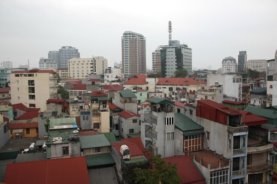 The Light Hotel Hanoi: view from restaurant