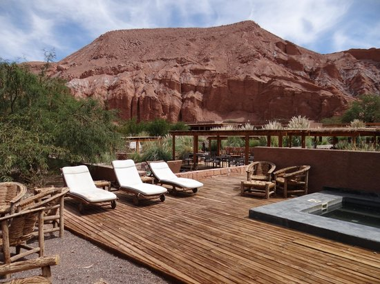 Alto Atacama Desert Lodge & Spa : One of the many Spa areas