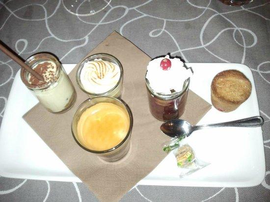 Restaurant-Pub La Ferme de Reberty : le café gourmand