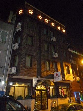 Mevlana Hotel: 外観
