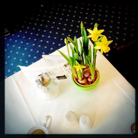 Henri Hotel Berlin: Dinning Room