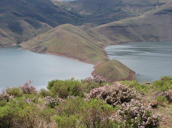 Stunningly beautiful Katse Dam