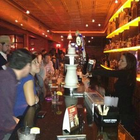 George and Martha's American Grille: The Bar in Action