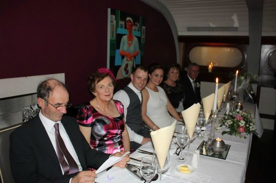 """Blue Haven Hotel: """"Top Table"""""""
