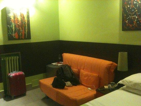 โรงแรมคัลเลอร์: Room n. 4