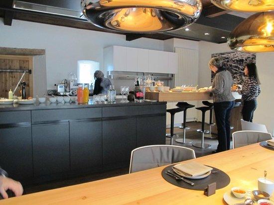 Schauenstein Schloss Hotel Restaurant: breakfast
