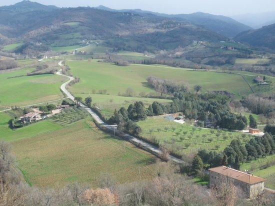 Il Borgo Sulla Collina B&B: vue épou-stou-flante de la chambre...