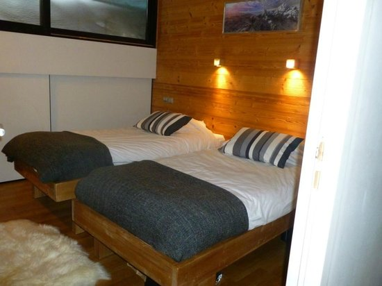 Chalet Arktic: Typical bedroom