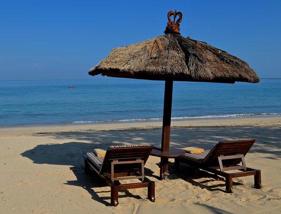Belmond Jimbaran Puri: beachside