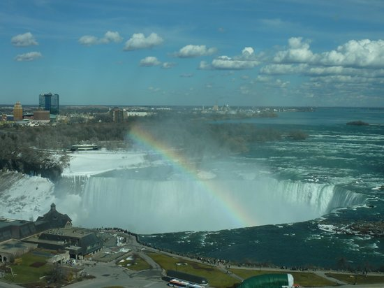 Radisson Hotel & Suites Fallsview: view of the falls from our room