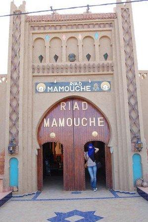 Riad Mamouche: ingresso