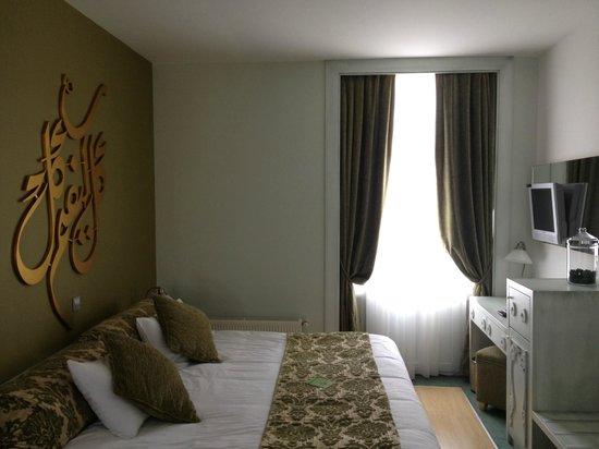 Adamar Hotel: Detalle de nuestra habitación