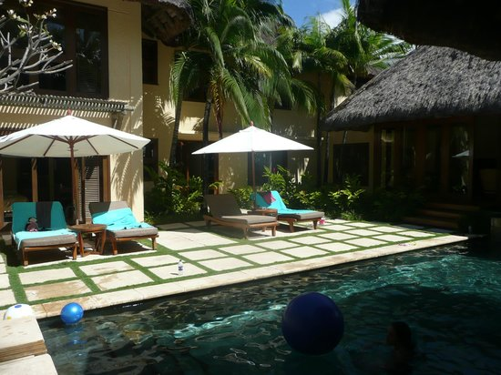 Constance Belle Mare Plage: beautiful house and pool