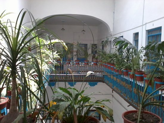 Hotel Ritz: Balcón dentro del hotel