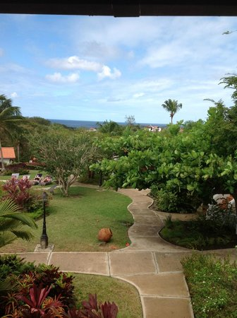 Sugar Cane Club Hotel & Spa: View from our balcony