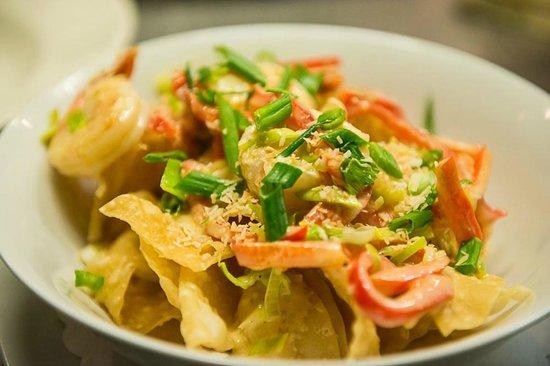 Malt: Thai Shrimp Nachos