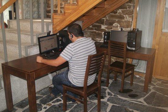 Complexo Xacobeo: Zona internet