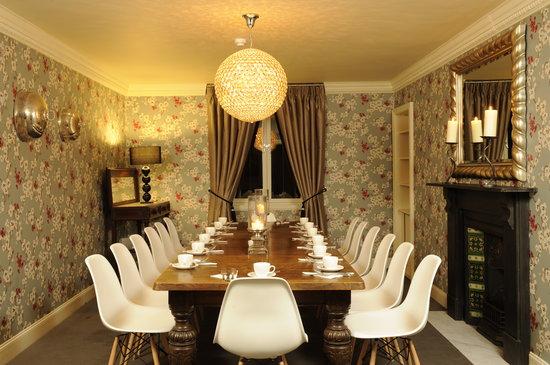 Brooks Hotel Edinburgh: Dining room