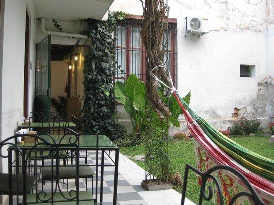 Casa de Borgona : Jardín
