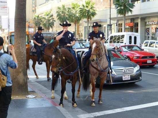 Amazing LA Tours: Even the police are good looking in LA!!!