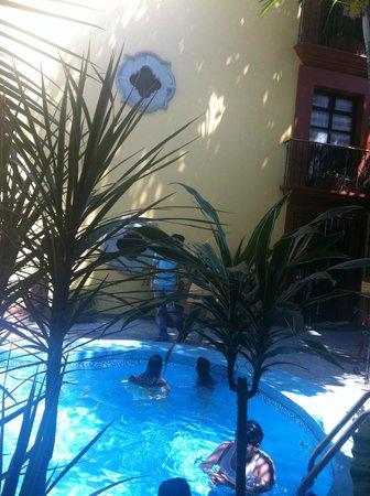 Hotel Oaxaca Real: Muy refrescante tomar un chapuzon en la alberca