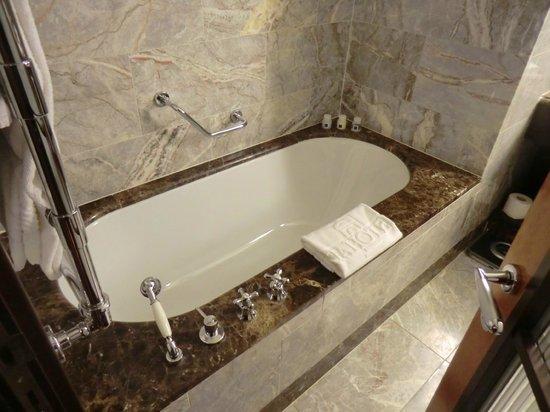 Hotel Principi di Piemonte: Badewanne
