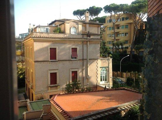 Suite Oriani: Ausblick vom Zimmerfenster