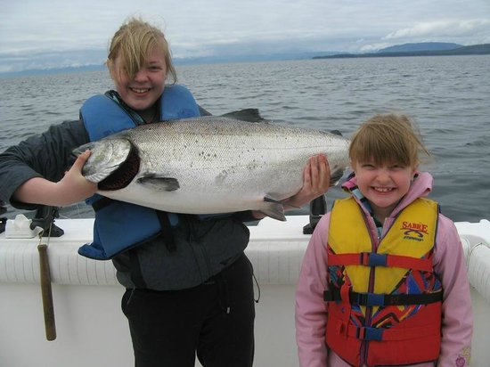 First City Charters: King salmon fishing 2012