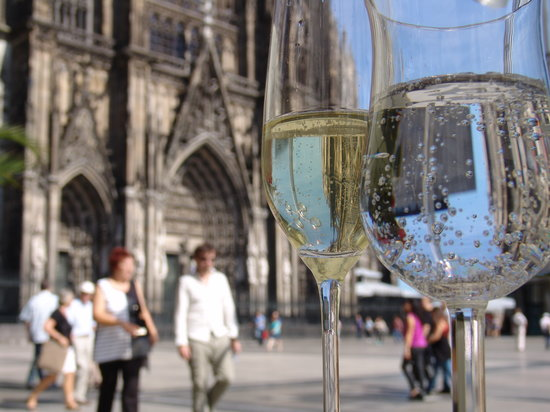 Dom-Hotel Köln: Het uitzicht