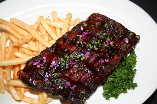 San Vicente Golf Resort: Baby Back Ribs available Monday nights in the Par Lounge and the Oaks Grille.