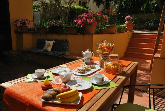 Bed and Breakfast Fior di Gelsomino : giardino interno