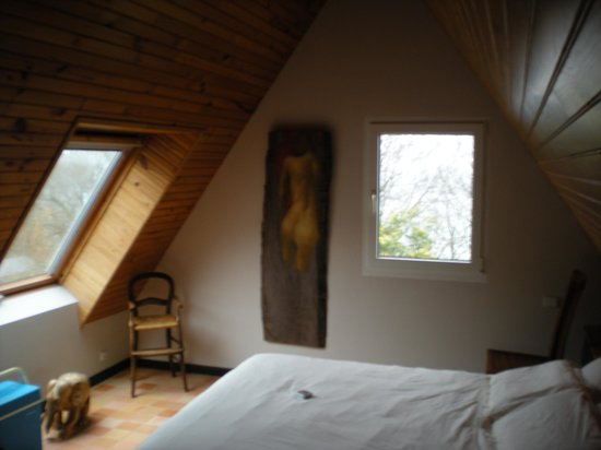 Chambre d'Hotes Caelhu : Notre chambre (Camille)
