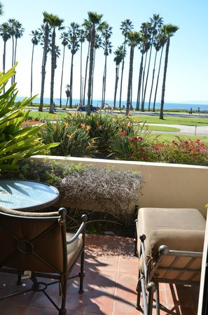 The Fess Parker - A Doubletree by Hilton Resort: The view from our room's patio
