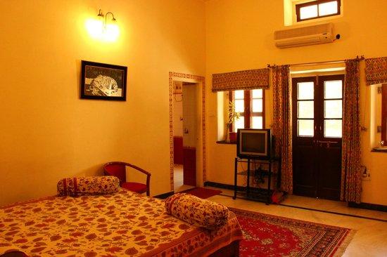 Devi Niketan Heritage Hotel: Our room