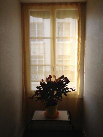 Hotel l'Ecuyer : hallway window, nice light