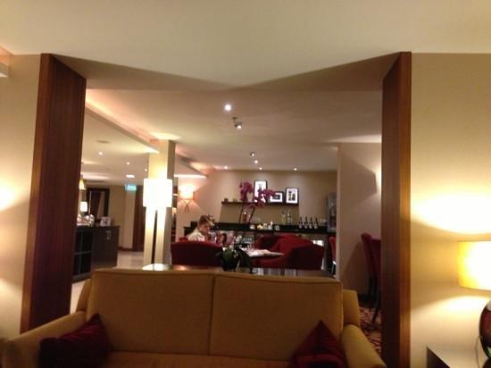 Budapest Marriott Hotel: lounge