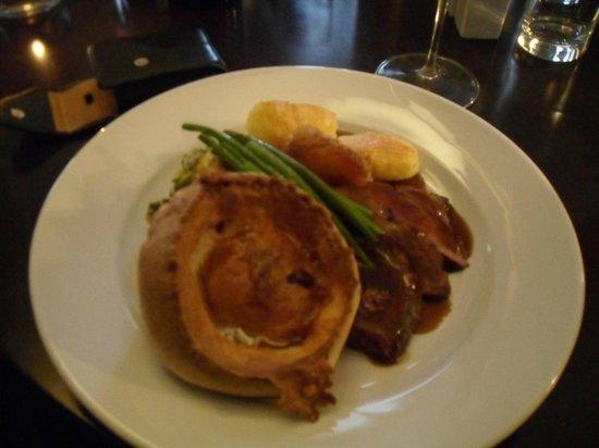 Reform restaurant: Excellent Roast Beef