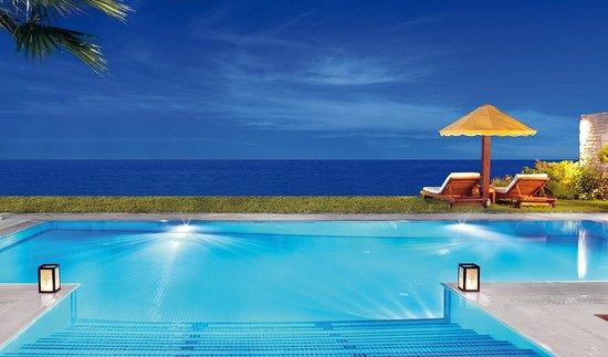 Porto Zante Villas & Spa: Private Pool at Night