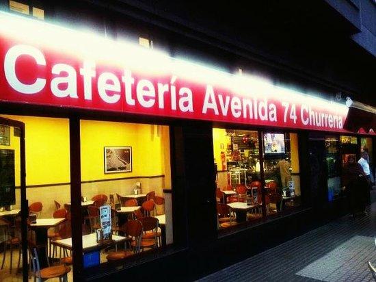 Cafeteria Churreria Terraza Las Palmas De Gran Canaria