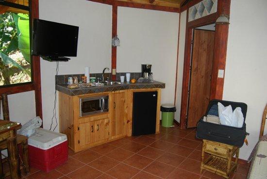 Hotel Cascata Del Bosco: Useful kitchenette