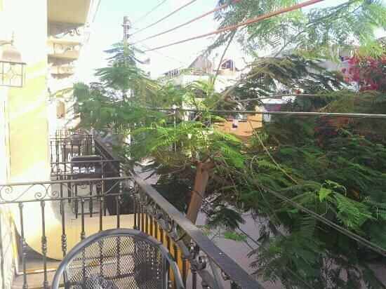 Hotel Hacienda Real del Caribe: view from room